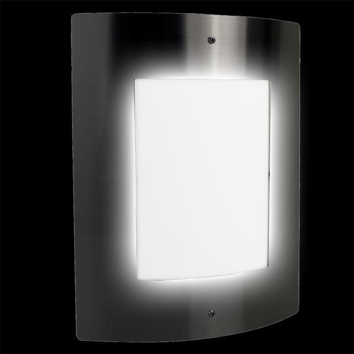 Edelstahl wandbeleuchtung au enbeleuchtung au enlampe wan for Lampen 4 you