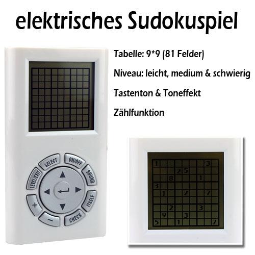 elektronisches sudoku