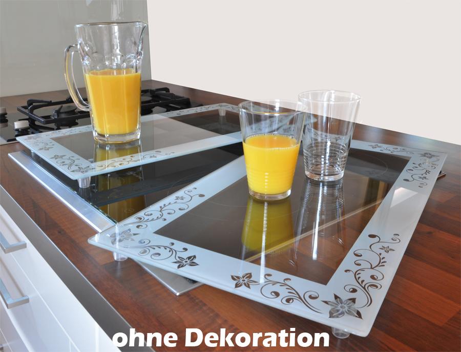 xl 2 x glas abdeckplatte herdabdeckplatte herdabdeckung. Black Bedroom Furniture Sets. Home Design Ideas