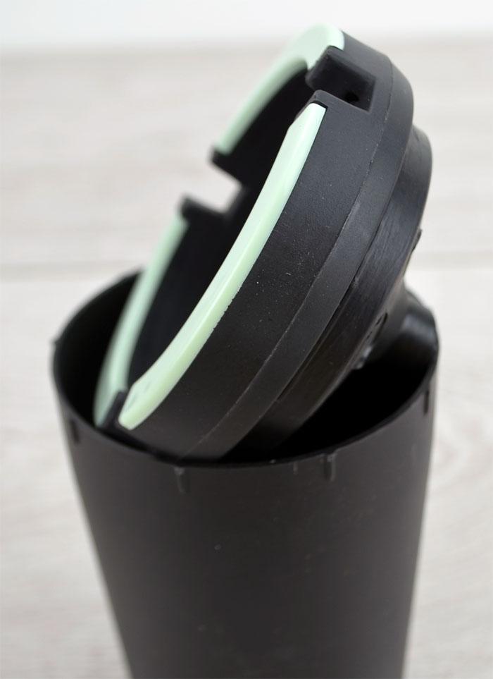 aschenbecher ascher leuchtet im dunkeln glutt ter windaschenbecher 11 x 8 cm ebay. Black Bedroom Furniture Sets. Home Design Ideas
