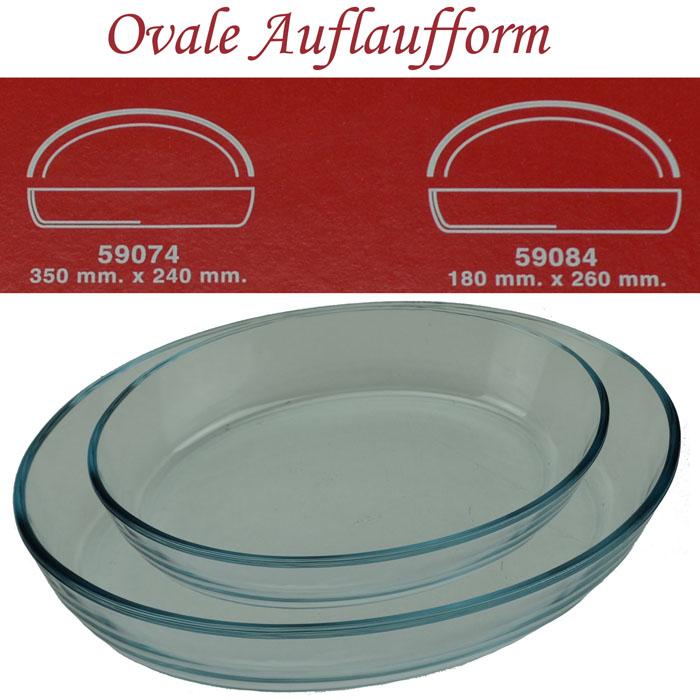 2 auflaufformen oval oder eckig glasauflaufform borcam backform lasagneform neu ebay. Black Bedroom Furniture Sets. Home Design Ideas