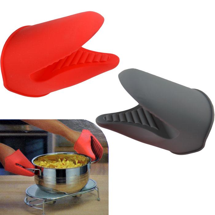 1 x silikon topflappen backhandschuh ofenhandschuh topfhandschuh kochhandschuh ebay. Black Bedroom Furniture Sets. Home Design Ideas