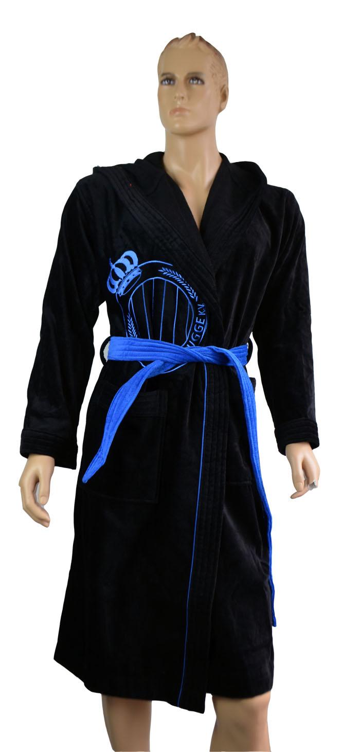 puma herren bademantel 100 baumwolle kaputzenbademantel bathrobe saunamantel ebay. Black Bedroom Furniture Sets. Home Design Ideas