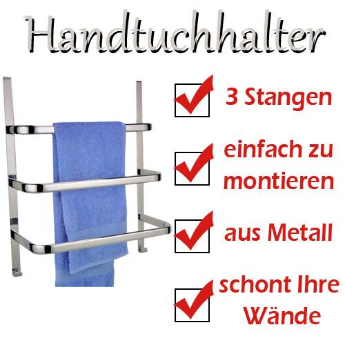 handtuchhalter handtuchst nder handtuchstange f r t r badregal t rregal ebay. Black Bedroom Furniture Sets. Home Design Ideas