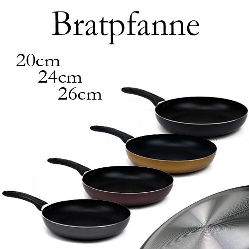 bratpfanne pfanne aluguss grillpfanne schmorpfanne 20cm 24cm 26cm eggersdorf. Black Bedroom Furniture Sets. Home Design Ideas