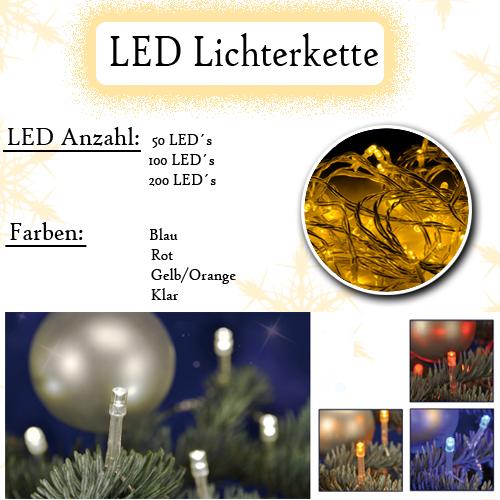 50 100 200 led s lichterketten licht weihnachten beleuchtung f r au en innen ebay. Black Bedroom Furniture Sets. Home Design Ideas
