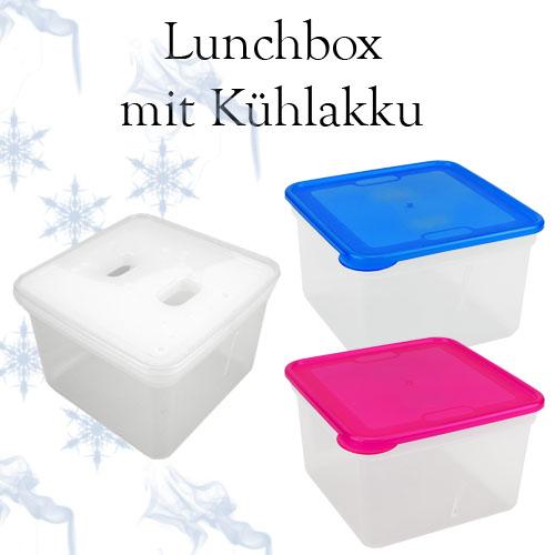2x frischhaltedose mit k hlakku vorratsdose brotdose lunchbox pink blau 44934 ebay. Black Bedroom Furniture Sets. Home Design Ideas