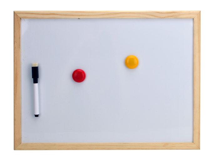 whiteboard 30 x 40 cm magnettafel wandtafel memoboard. Black Bedroom Furniture Sets. Home Design Ideas