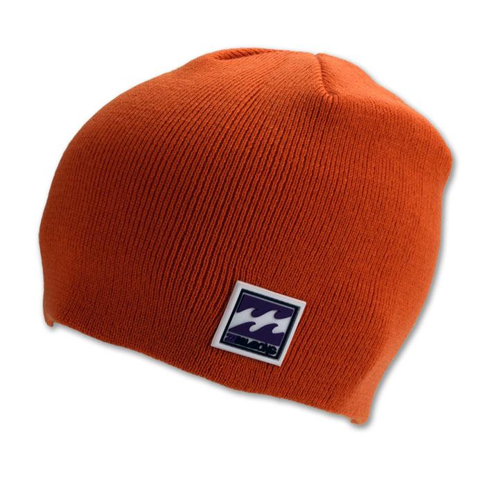 Rollmütze Acryl Mütze Strickmütze Wintermütze Beanie Winter orange