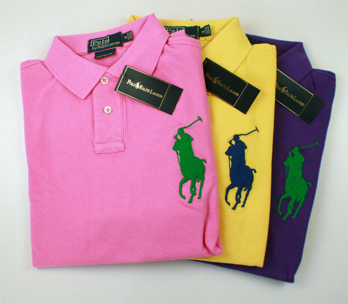 ralph lauren polo big pony solid polohemd poloshirt herren. Black Bedroom Furniture Sets. Home Design Ideas