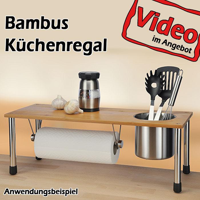 Küchenablage Regal ~ küchenregal regal gewürzregal bambusregal bambus küchenablage holzregal 13080 ebay