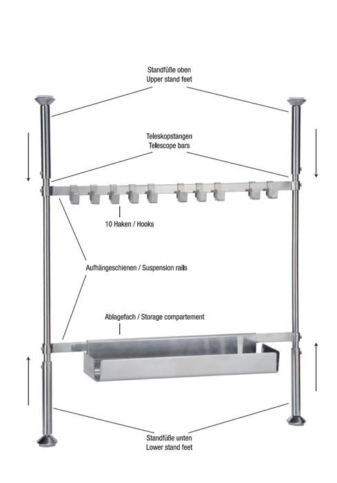 Küchenablage Regal ~ teleskop regal küchenregal gewürzregal küchengestell küchenablage ablage 33032 ebay