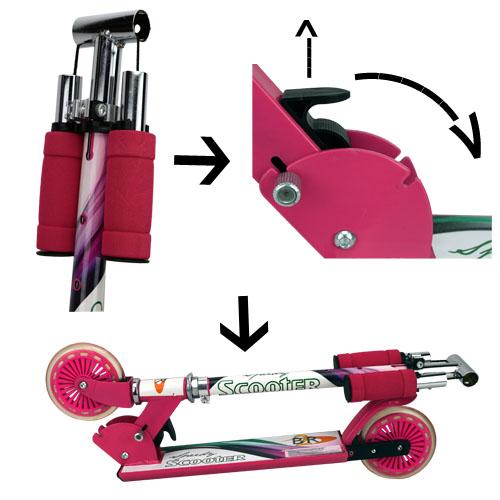 scooter kinderroller bis 100kg roller tretroller. Black Bedroom Furniture Sets. Home Design Ideas