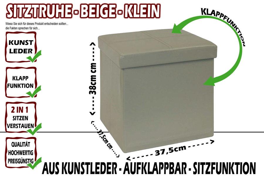 neu sitztruhe w schekorb w schebox w schetruhe sitzbank box truhe sitzbox korb. Black Bedroom Furniture Sets. Home Design Ideas