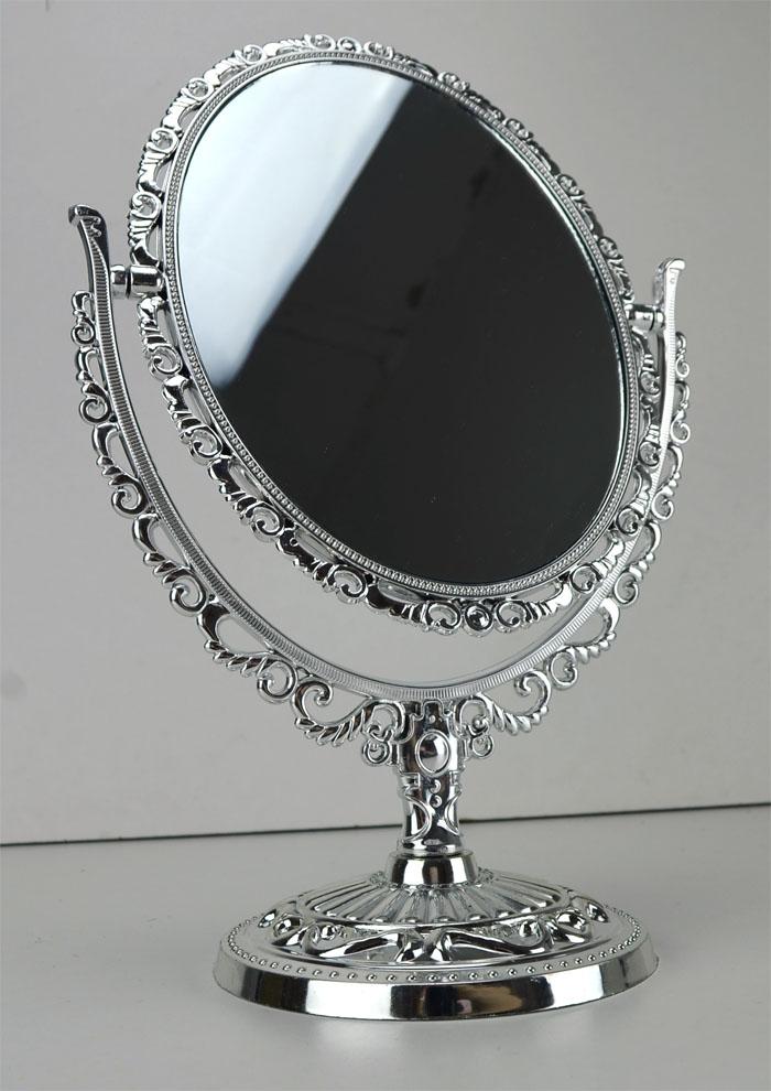 Kosmetikspiegel oval makeupspiegel schminkspiegel beautyspiegel spiegel ebay - Spiegel oval silber ...
