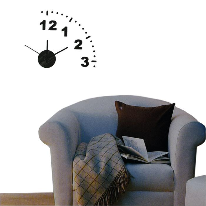 design wanduhr uhr k chenuhr b rouhr quarzuhr wandtattoo dekouhr deko ebay. Black Bedroom Furniture Sets. Home Design Ideas