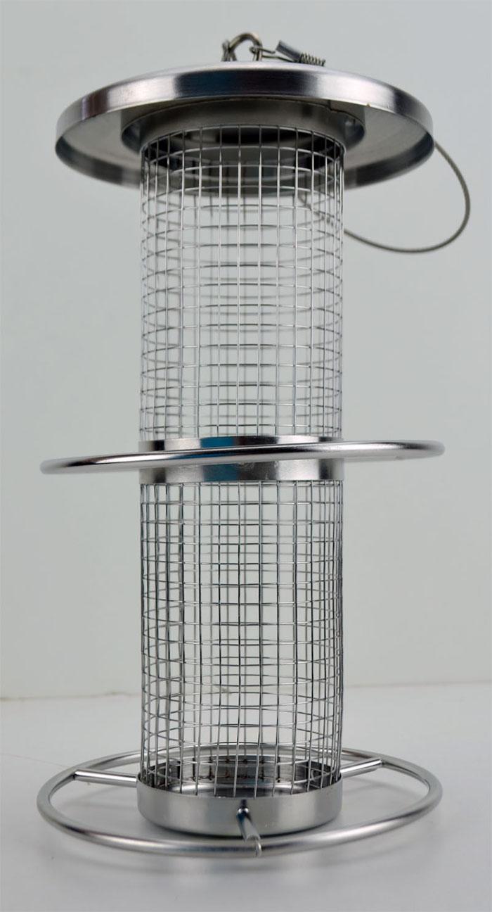 futterstation vogelfutterstation vogel edelstahl vogelhaus futterspender ebay. Black Bedroom Furniture Sets. Home Design Ideas