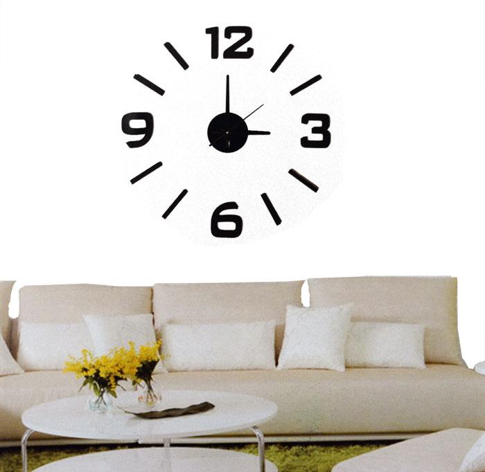 wanduhr zum kleben wanddeko so peppst du jede wohnung auf kipawa spiegel kleben angebote auf. Black Bedroom Furniture Sets. Home Design Ideas
