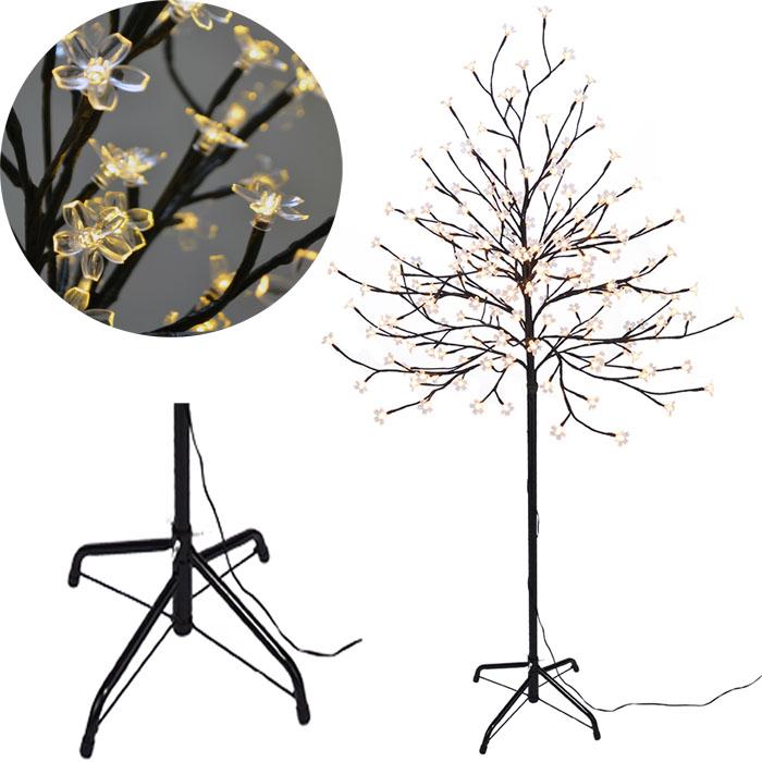 kirschbl tenbaum sakura baum180cm 180 led lichterbaum. Black Bedroom Furniture Sets. Home Design Ideas